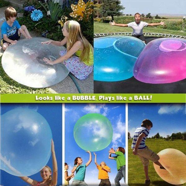 Balonul Urias Distractiv pentru cei Mici (Varianta XL) + Pompa Cadou - ShopGuru
