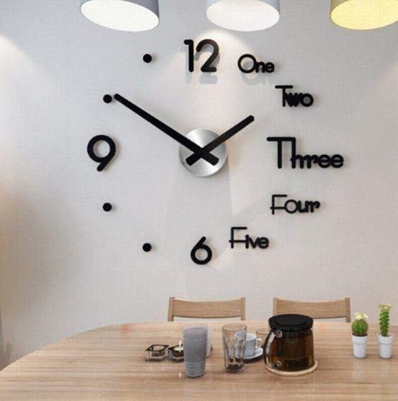 Ceas de Perete 3D - ShopGuru