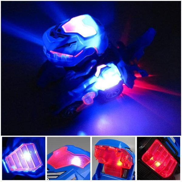 Dino™ Masinuta care se transforma in Dinozaur cu LED-uri - ShopGuru