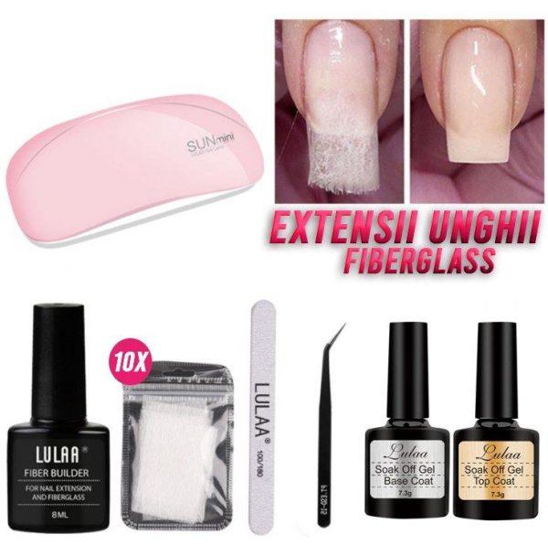 Kit Extensii Unghii FiberGlass - ShopGuru