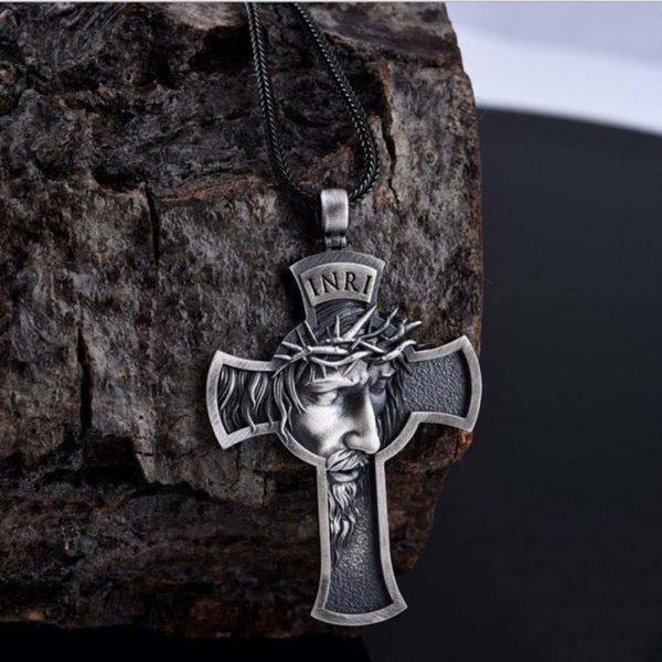Pandantiv Iisus Hristos Crucifix - ShopGuru
