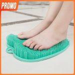Perie masaj pentru spalat comod picioarele<span> - </span>Verde