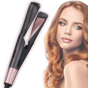 Placă de îndreptat și ondulat părul Curl & Straight Confidence 2 in 1 - ShopGuru
