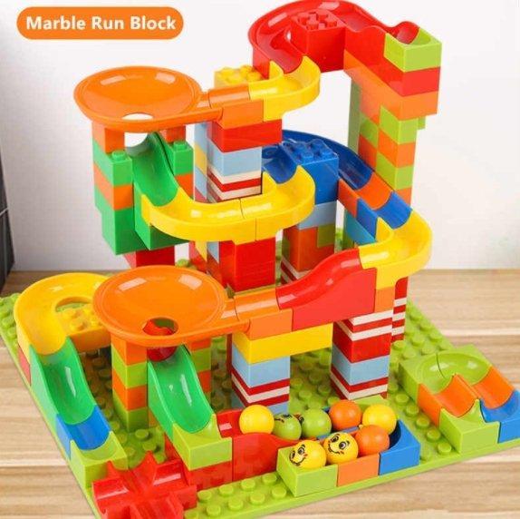 RunMaze™ Blocuri de construcție Joc Educational (168 piese) - ShopGuru