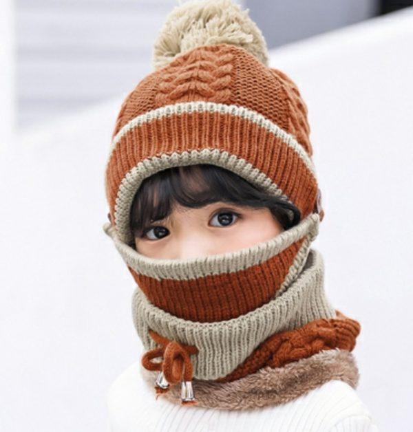 Set Combo de Iarnă 3-in-1 (Caciula+Masca+Esarfa) - ShopGuru